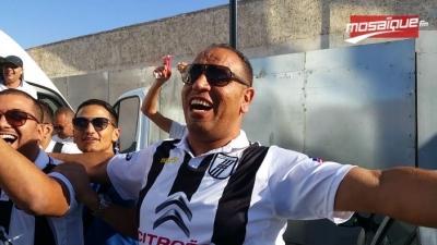 L'ambiance à Rabat avant le match entre le FUS et le CSS