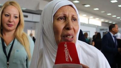 عدد من عائلات الشهداء يعودون من الحج