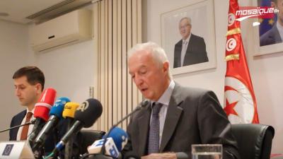 دي كرشوف يستعرض التعاون مع تونس في مجال مكافحة الإرهاب