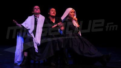 Première de la pièce les veuves