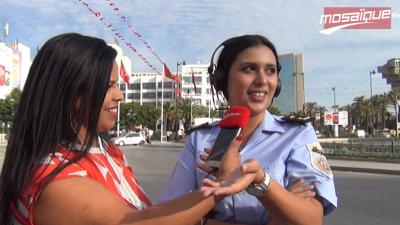 'El Feyda m3a Hana' Un lieutenant à la police de circulation: je garde le sourire même en appliquant la loi
