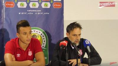 ماركو سيموني: جمهور الأفريقي أحسن لاعب و لن نضيع فرصة التأهل للفينال