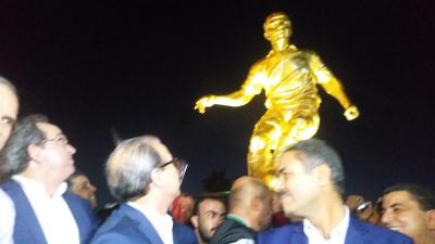 Inauguration de la statue de Hamadi Agrebi