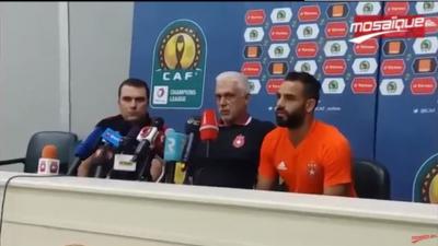 Al Ahly-ESS: la conférence de presse d'avant-match