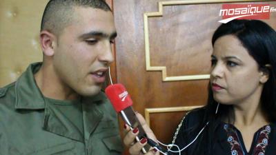 الجندي فوزي سعيد:الخدمة الوطنية شرف لينا مايلزمش نتهربو منها.