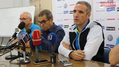 Conférence de presse de l'entraîneur de l'équipe nationale de handball