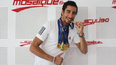 Aviron: Mohamed Taieb, un champion tunisien qui rêve de l'or olympique