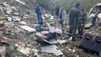 Béja : Un témoin oculaire raconte  l'accident du bus touristique