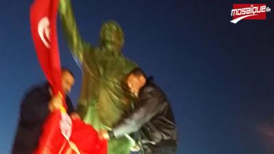 Sfax: inauguration de la statue du leader syndicaliste Farhat Hached