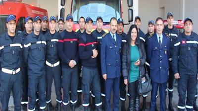 Al Fayda avec Hana: Les agents de la protection civile mobilisés pour assurer  votre sécurité