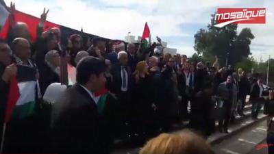 La marche des députés: Al Quds est à nous !