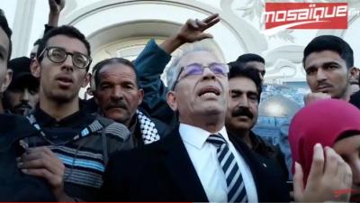Une marche de soutien à la cause palestinienne