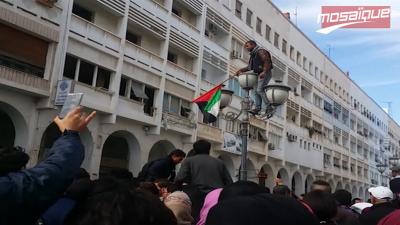 Sfax: des élèves et étudiants protestent en signe de solidarité avec le peuple palestinien