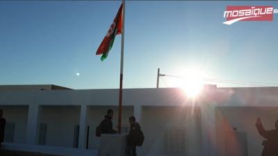 Les drapeaux tunisien et palestinien hissés dans les écoles de Tataouine