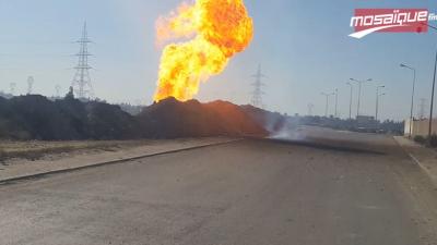 قابس: انفجار أنبوب غاز بمنطقة غنوش
