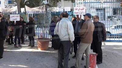 L'Union des Médecins généralistes manifeste devant le ministère de la Santé