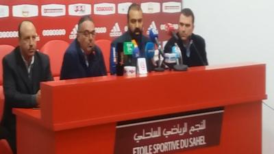 La conférence de presse du nouvel entraineur de l'ESS, Kheireddine Madoui