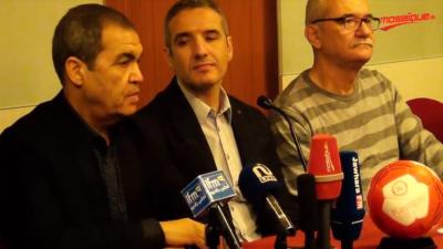 Hand: conférence de presse de l'EN avant le départ pour le Gabon