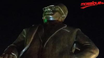 Inauguration de la la statue du martyr Hédi Chakr à Sfax