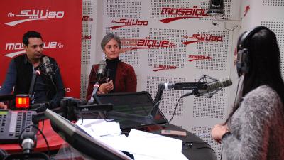 """Nadia Boussetta et Ghazi Zaghbani présente la pièce de théâtre  """"la Fuite"""""""