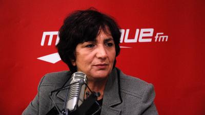 سامية عبو تنتقد ''صمت النهضة'' عن تهديدها بالقتل