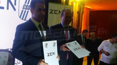 توقيع اتّفاقية شراكة بين النادي الرياضي الصفاقسي وZEN