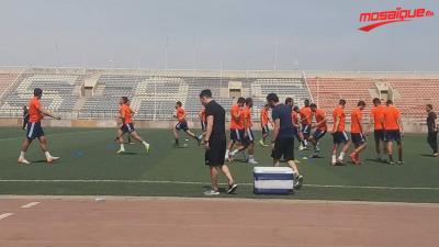 ESS: dernière séance d'entrainement avant le match de Plateau Utd