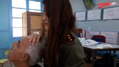 العمل الإنساني للمرأة العسكرية