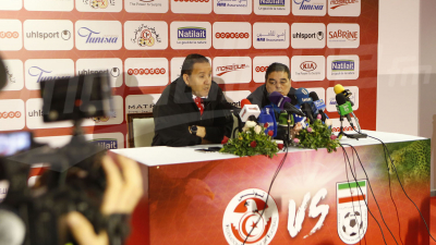 Point de presse de Maaloul avant le match amical Tunisie - Iran
