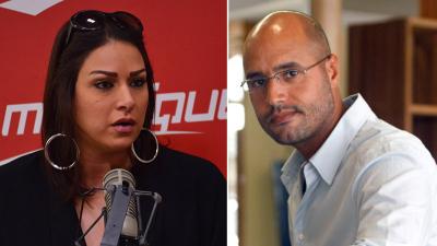 Asma Selim : je voterais pour Saif Al Islam Khadhafi s'il se présente aux élections