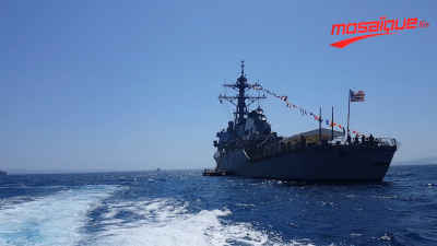 Le destroyer USS BURKE ARLEIGH accoste en Tunisie