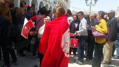 Des parents d'élèves protestent à Sfax