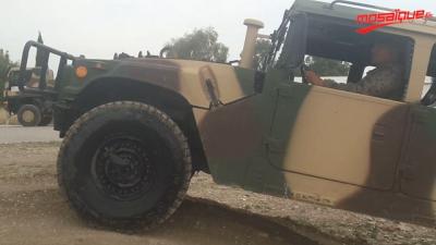 تدريبات الجيش الوطني على سياقة جميع العربات في كل التضاريس