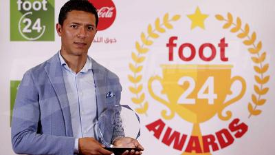 Amine Chermiti, meilleur joueur du mois d'avril