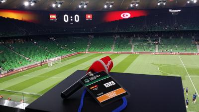 Ambiance au stade Krasnodar Arena avant le match Tunisie Vs Espagne
