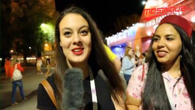 Arrivée des supporters Tunisiens à Volgograd