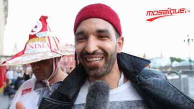 Des supporters tunisiens en Russie: notre sélection est l'espoir des arabes