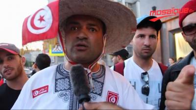 الجمهور التونسي في روسيا:''نحبو مراول وشابوات كيما عطاو للمغاربة''