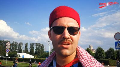 La réaction des supporters tunisiens après la défaite face à la Belgique au stade de Spartak