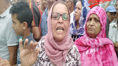 Tensions devant l'hôpital régional de Jendouba