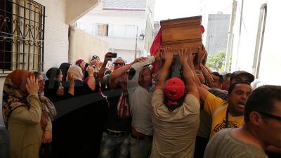 Bizerte: la dépouille du martyr, Hamza Dellali accueillie par la foule