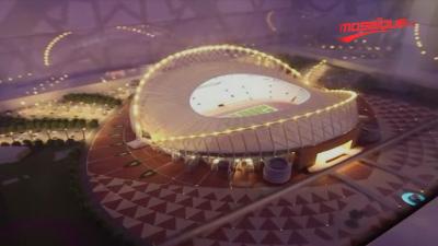 Campagne promotionnelle pour le mondial Qatar 2022 à Moscou