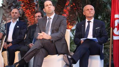 Youssef Chahed: les relations tuniso-français sont au beau fixe