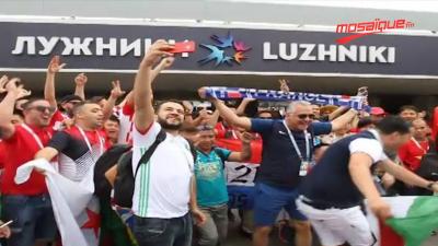 L'ambiance à Moscou avant la finale de la coupe du monde