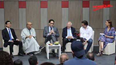 Conférence du spectacle 'la route de soie' de l'orchestre symphonique Tunisien
