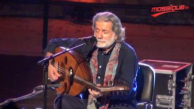 Marcel Khailfa chante pour la révolution au festival de Hammamet