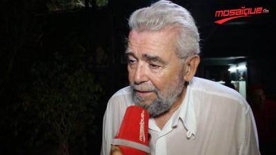 Fadhel  Jaziri : ' Ali Jaziri a été programmé au festival de Carthage parce qu'il le mérite