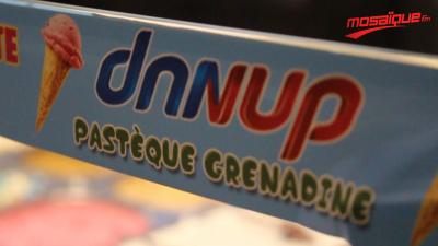 ليوم Danup فرحت بالنساء و رجالهم بال Glace الجديد Danup pastèque grenadine