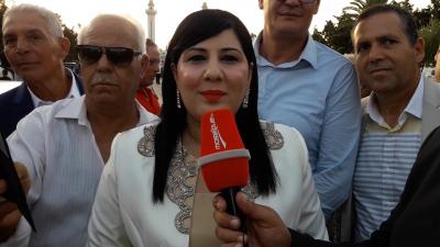 Abir Moussi: Caied Essebsi a dévié de la ligne Bourguibiste
