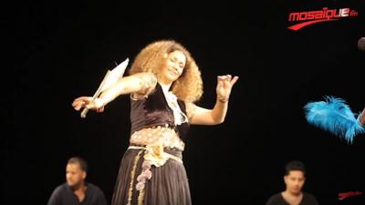 Ghalia Benali à la soirée de clôture du Festival International de Hammamet